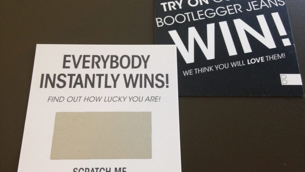 Scratch & Win Tickets Printing